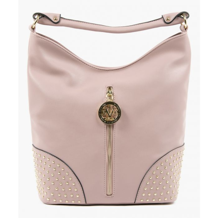 Image for Light purple studded slouch bag