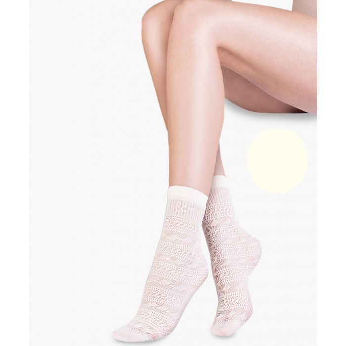 Image for Sol ecru ankle socks 20 denier