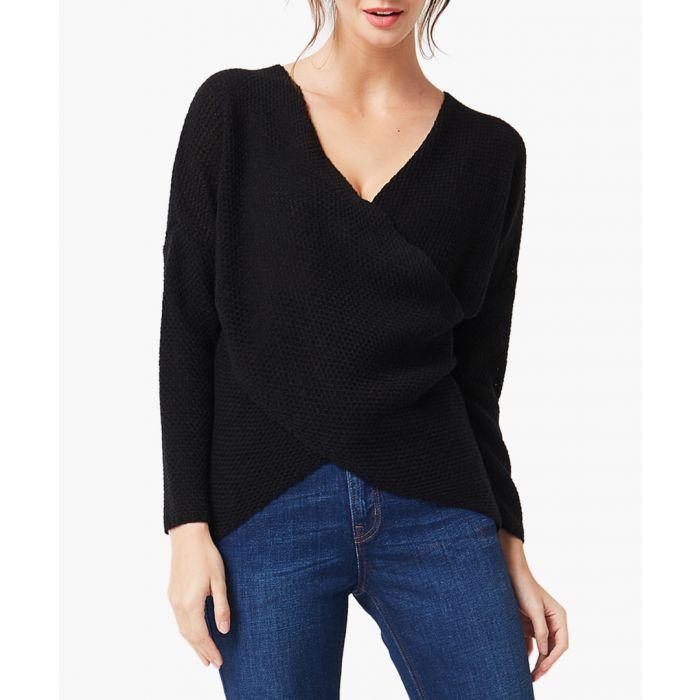 Image for Black loose cut jumper
