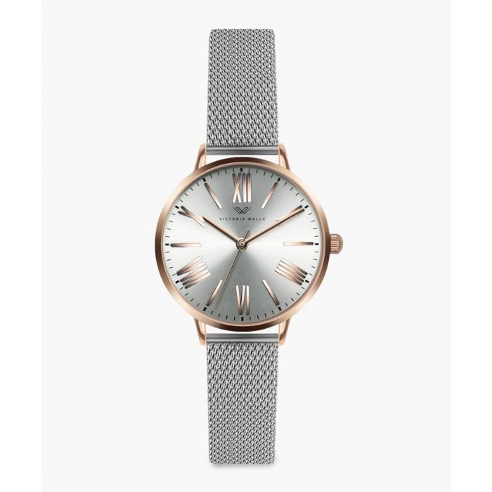 Image for Rose stainless steel analogue watch