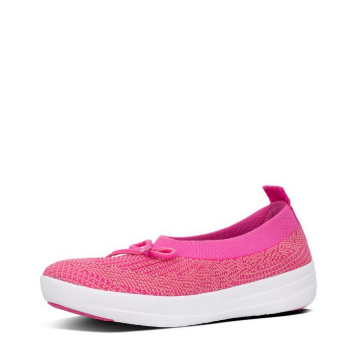 Image for Uberknit Ballerina pink slip-ons