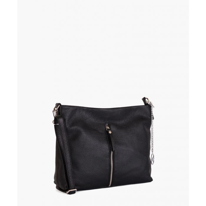 Image for Stelline black leather crossbody