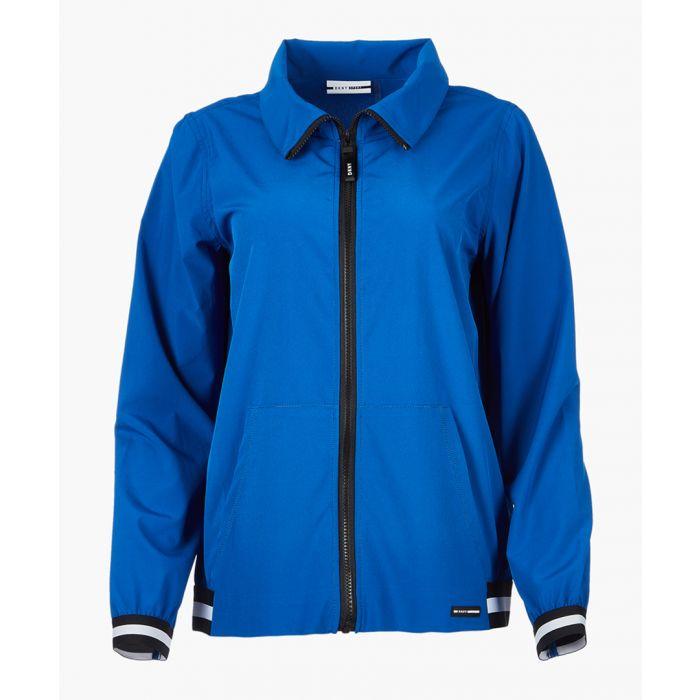 Image for Lapis blue full zip jacket