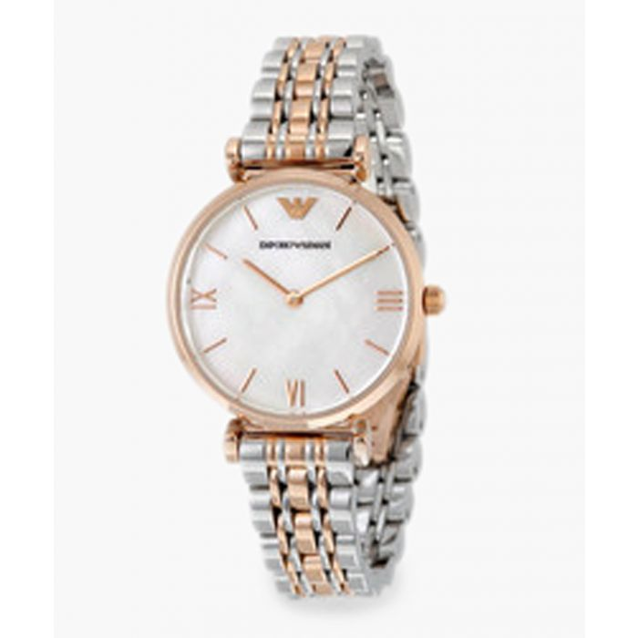 Image for Dual-tone mother-of-pearl dial watch