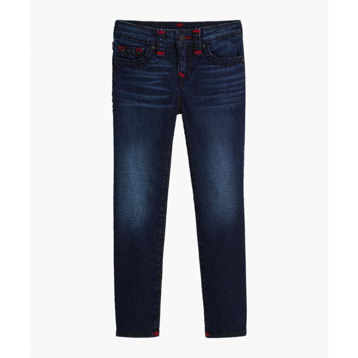 Image for Boys Geno blue cotton blend jeans