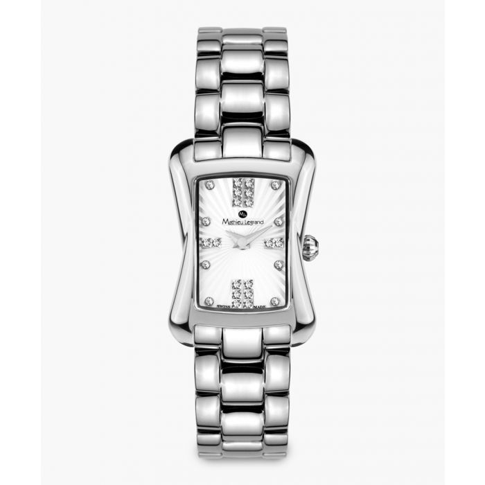 Image for Papillon silver-tone watch
