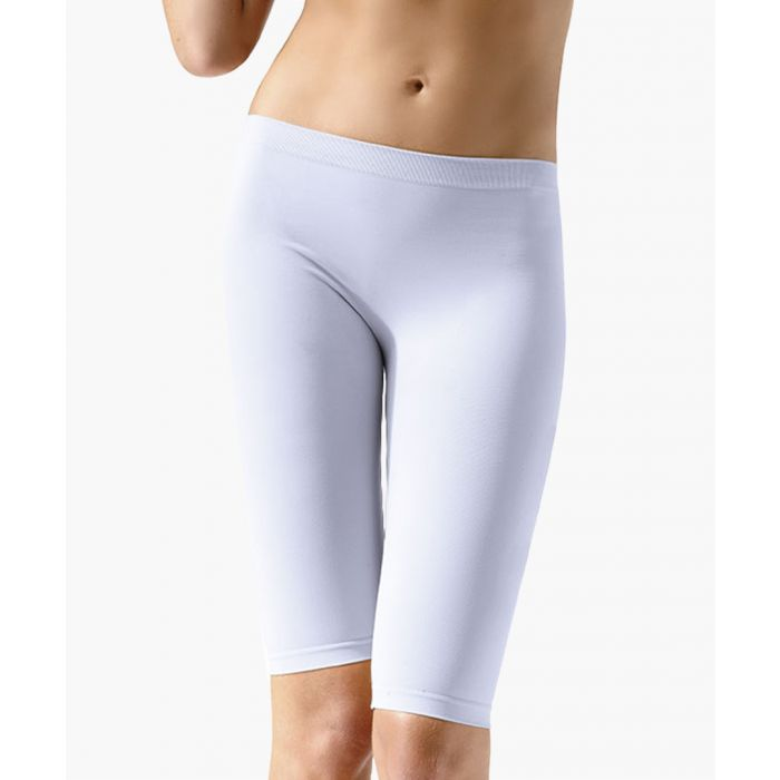 Image for White shaping shorts