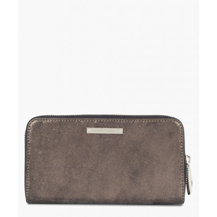 Image for Dylan brown metallic leather wallet