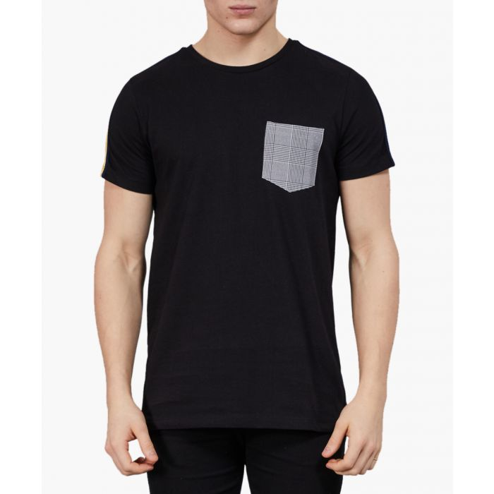 Image for Black cotton T-shirt
