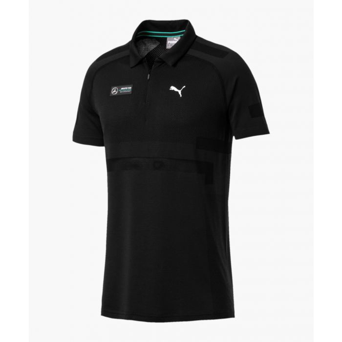 Image for Mapm black evoknit polo t-shirt