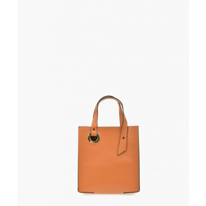 Image for Brown leather handbag