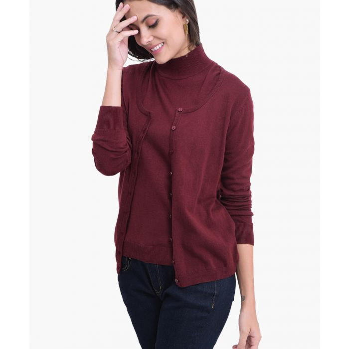 Image for Bordo cashmere and silk blend cardigan