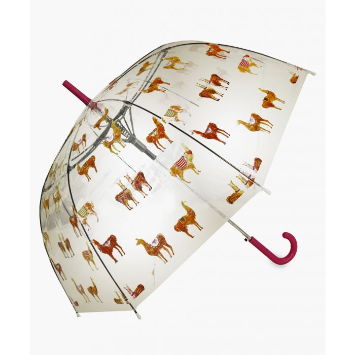 Image for Llama heaven printed umbrella