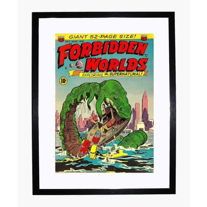 Image for Forbidden Worlds 05 framed print
