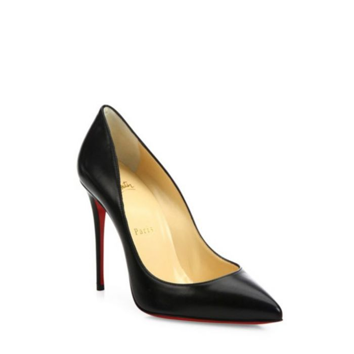 Image for Pigalle black patent leather heels