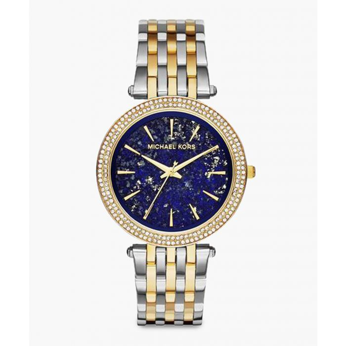 Image for Silver and gold-plated stainless steel watch