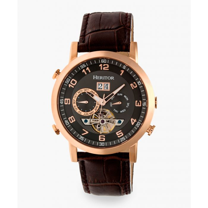 Image for Heritor Automatic Edmond brown watch