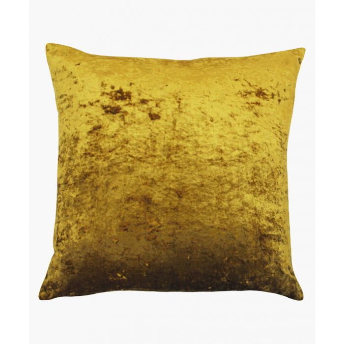 Image for Verona ochre square cushion