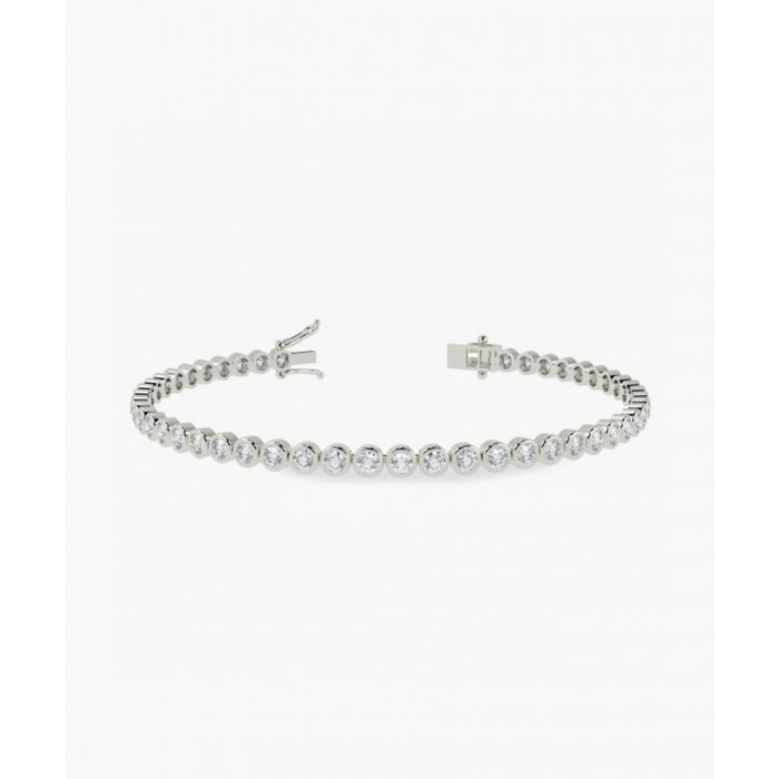 Image for 9k white gold and 2.00ct diamond bracelet