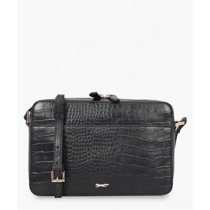 Image for Kouti black leather bag