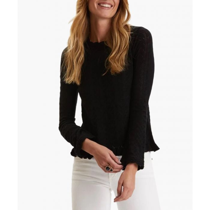 Image for Black Wrap Up And Go Sweater