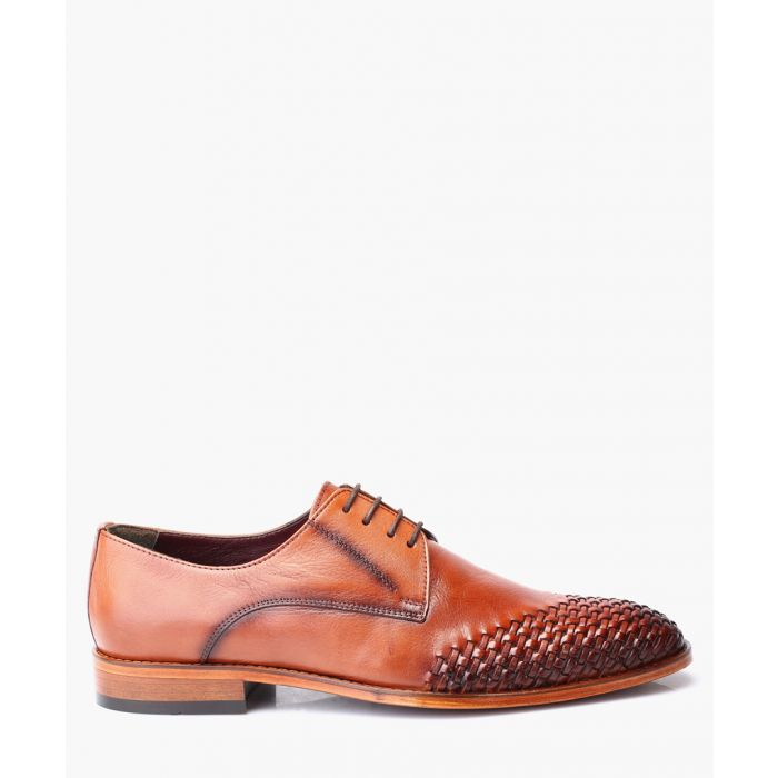 Image for Men's tan Derby shoes