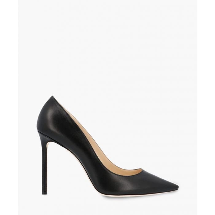 Image for Romy 100 black leather pumps