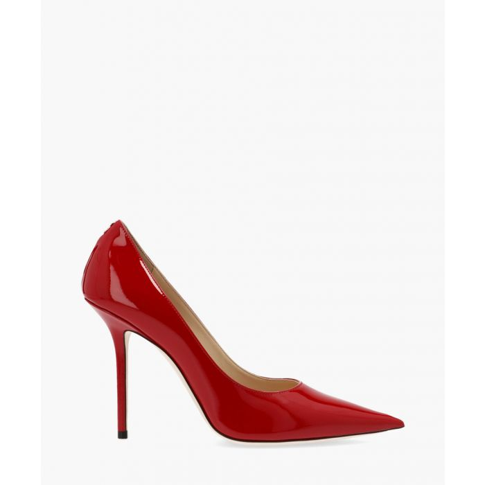 Image for Love 100 red leather pumps