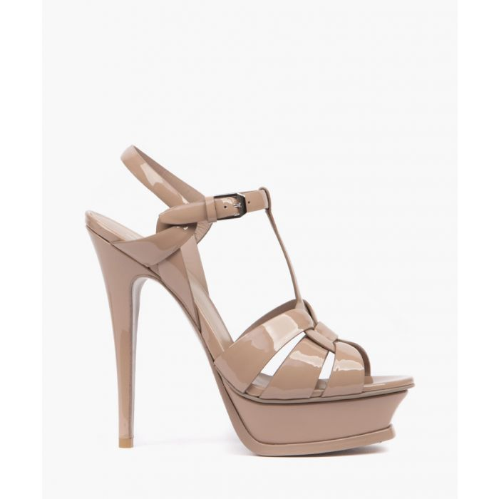 Image for Tribute nude patent leather sandals