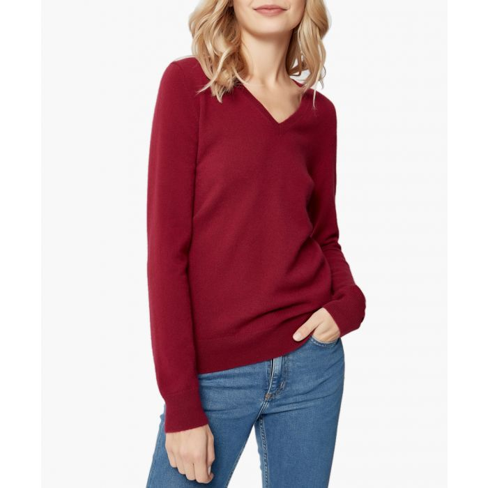 Image for Bordeaux pure cashmere jumper