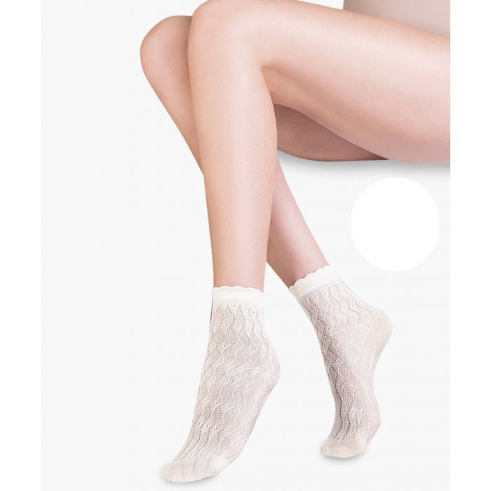 Image for Ava blanc ankle socks 20 denier