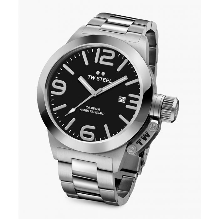 Image for Canteen silver-tone watch