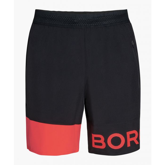 Image for Archer pink and black shorts