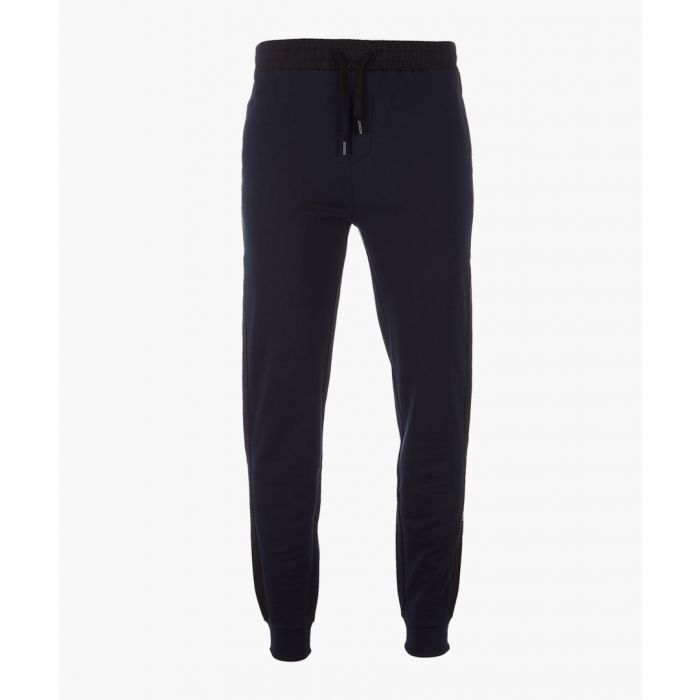 Image for Navy basic joggers