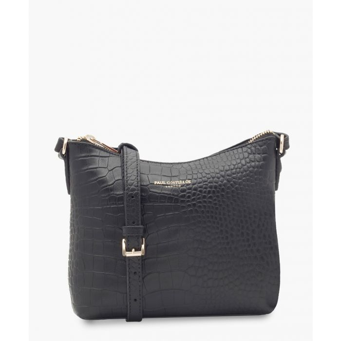 Image for Denia black leather crossbody