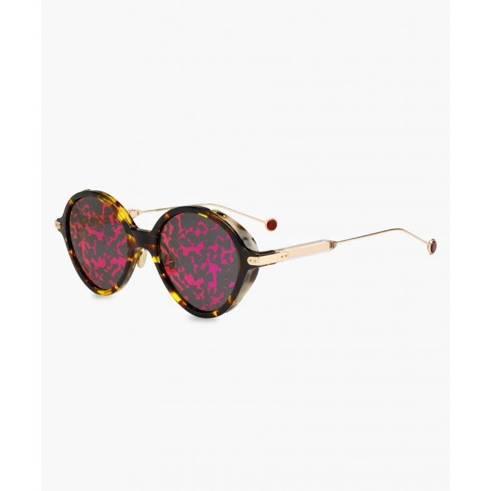 Image for Umbrage Havana round sunglasses