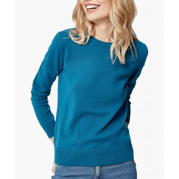 Image for Dark green pure cashmere jumper