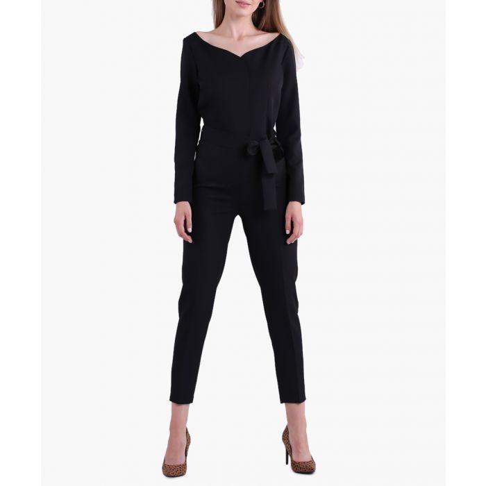 Image for Black Woven Jumpsuit