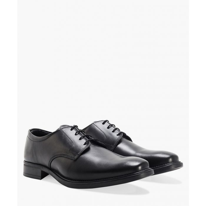 Image for Gibson black leather shoes
