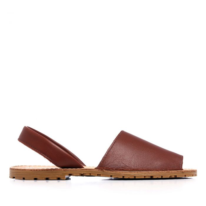 Image for Womens leather sandals brown