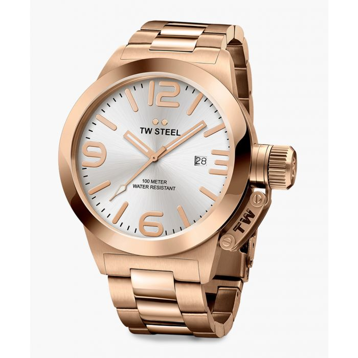 Image for Canteen rose gold-tone watch