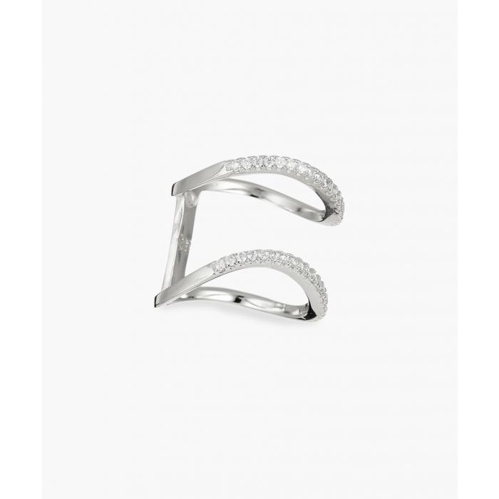 Image for Duo Goutte silver ring