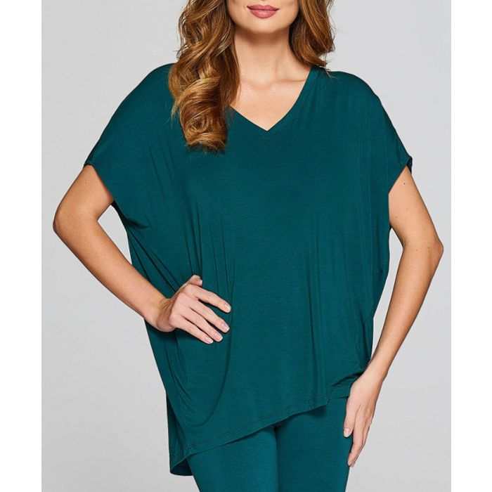 Image for Teal short sleeve T-shirt