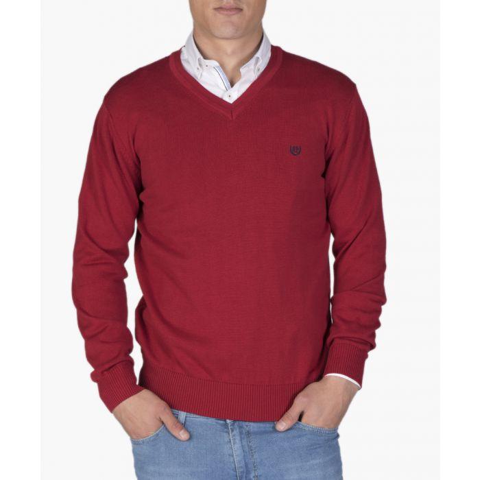 Image for Mens bordeaux cotton T-shirt