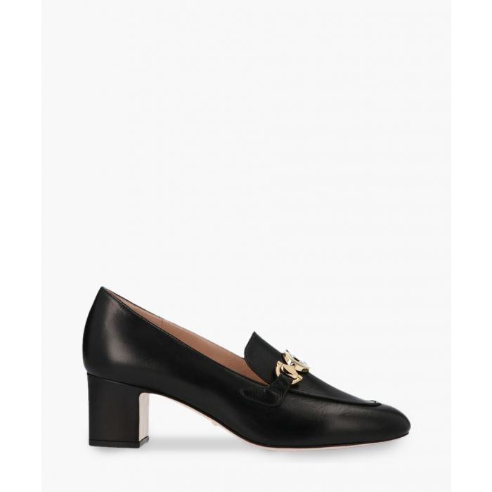 Image for Zumi leather mid-heel loafers