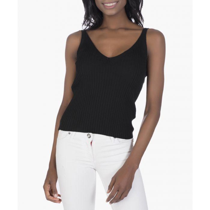 Image for Black cotton blouse