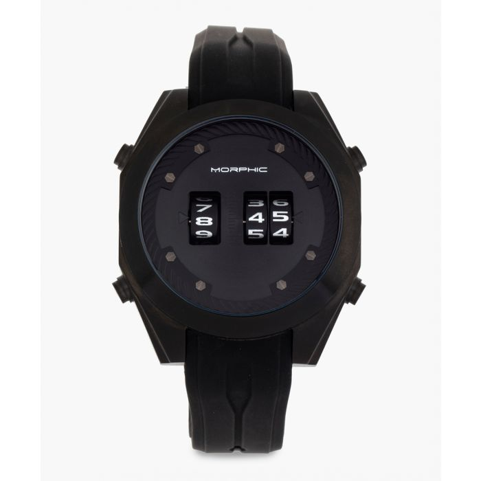 Image for M76 Series silicone and stainless steel digital watch
