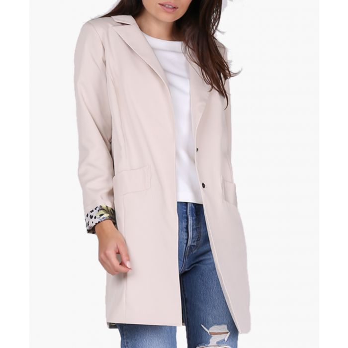 Image for Beige woven jacket