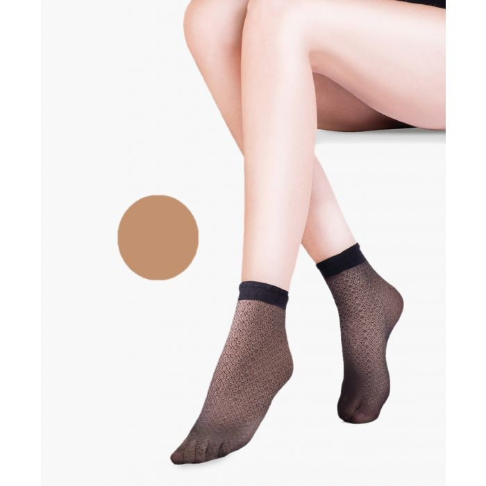 Image for Flo beige ankle socks 20 denier