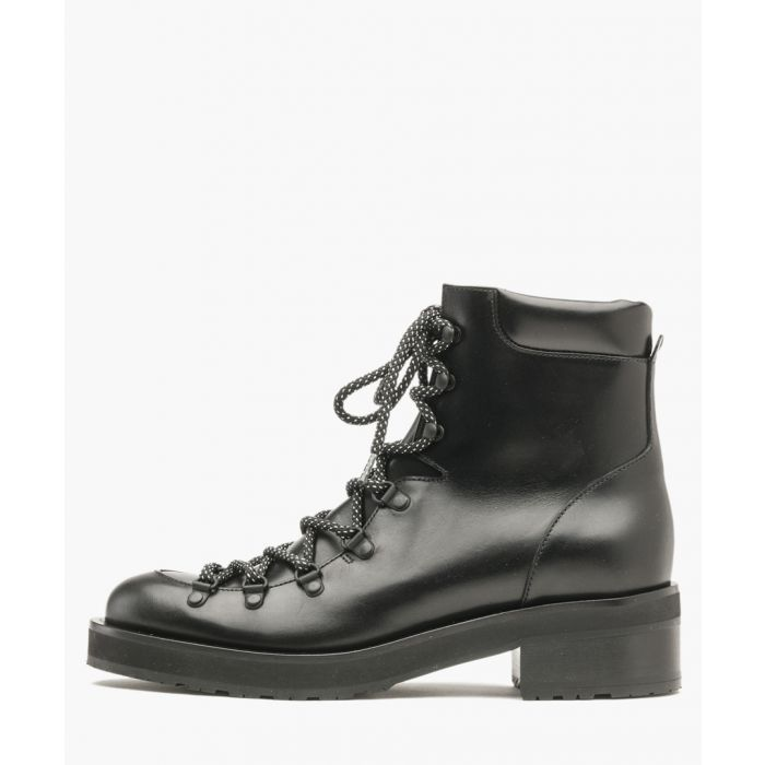 Image for Roanoke black leather ankle boots